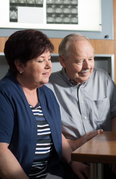 Interview zum Thema Prostatakrebs mit Angehörigen